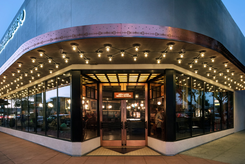 North Park Beer Co front entrance, San Diego restaurant scene, restaurant photographer, editorial photography san diego