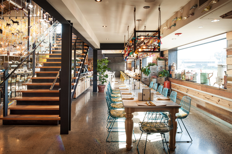 Interior photo of Cucina Enoteca in Del Mar, restaurant photography, editorial restaurant, interior photography