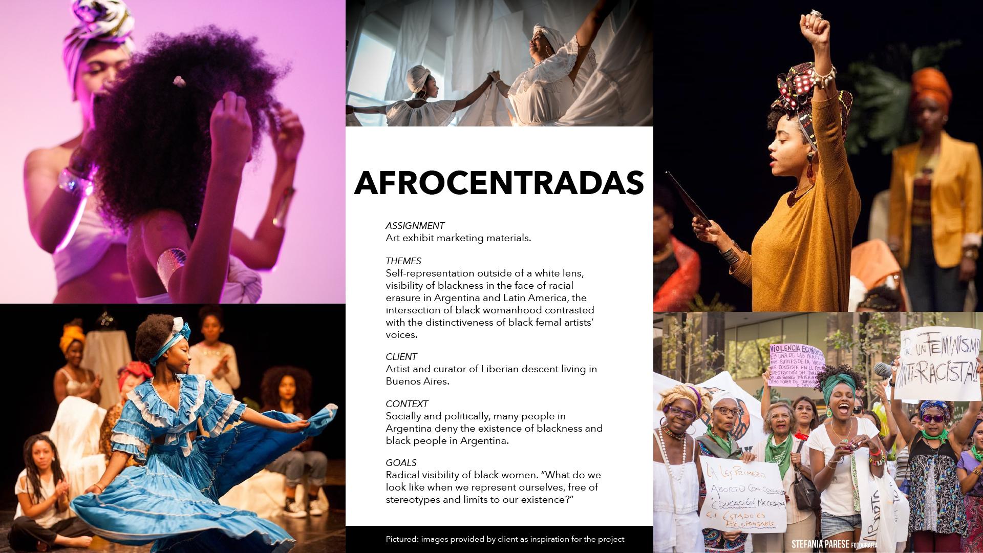 Afrocentradas Assignment