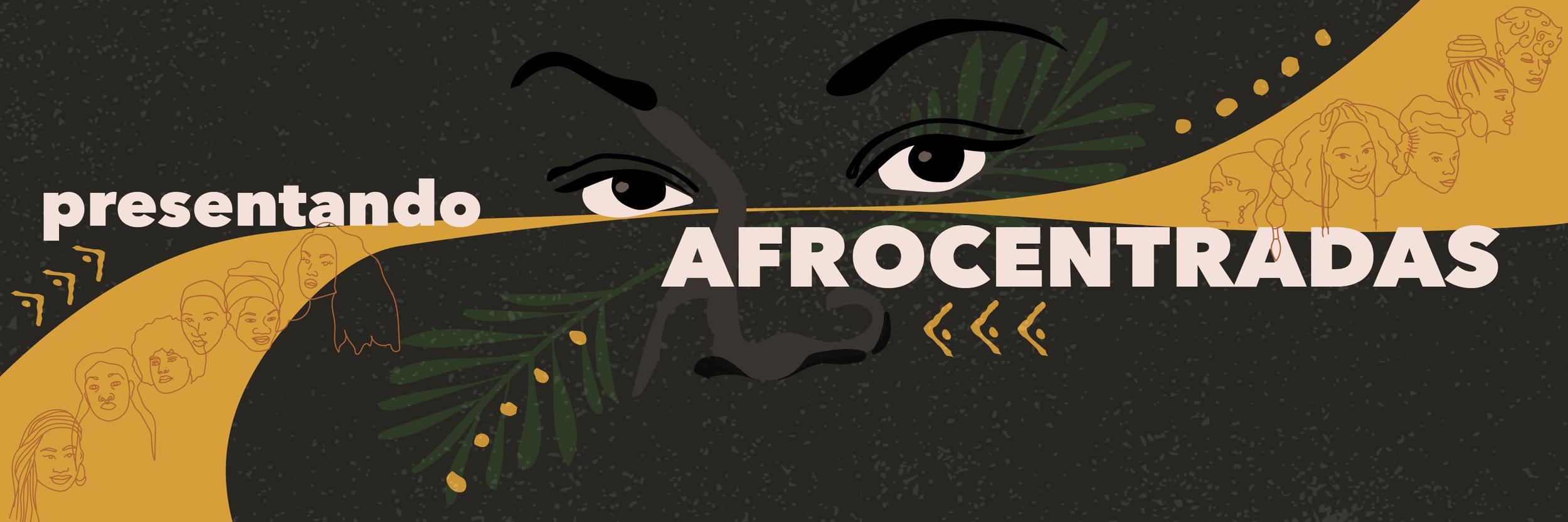 Afrocentradas Art Exhibit Marketing Materials