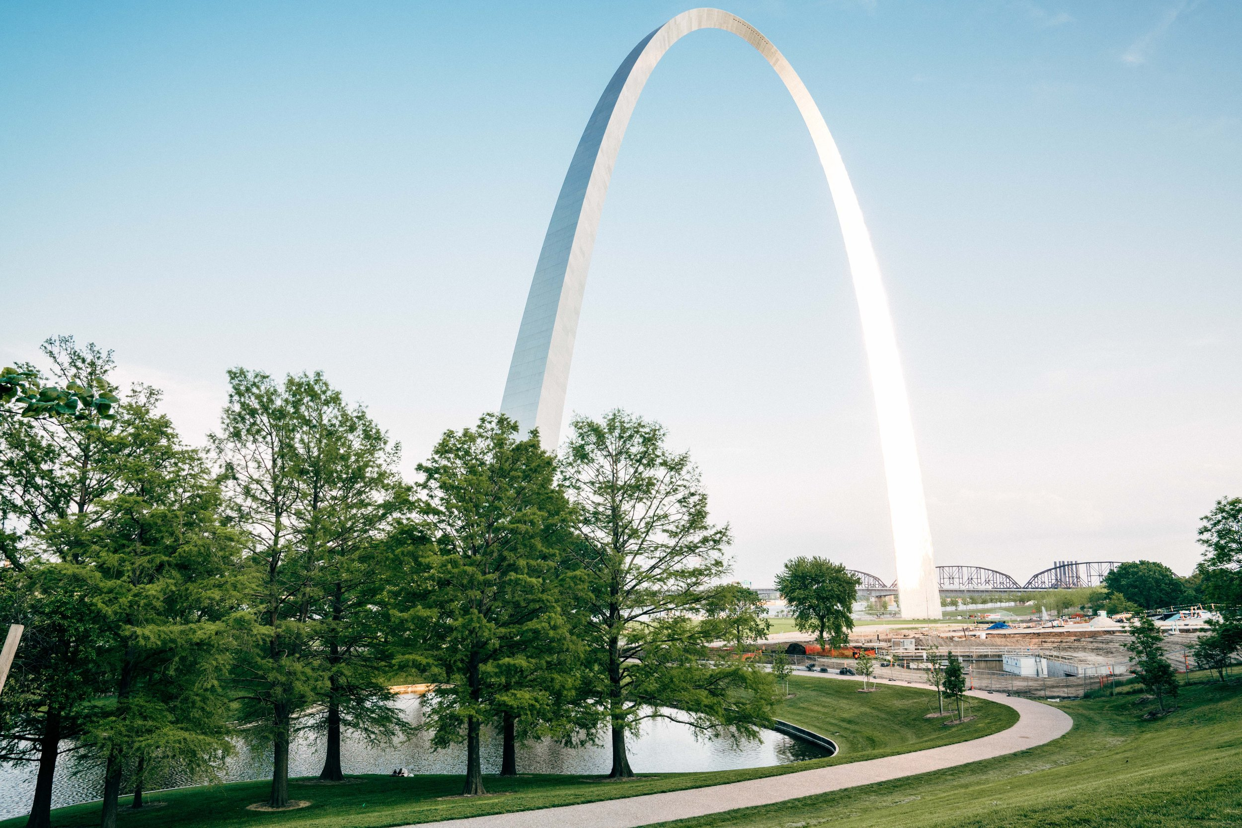 St. Louis Gateway Arch National Park Construction