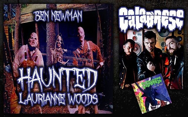 Hauntcast 83 featuring Ben Newman of Haunted Laurianne Woods and music from Calabrese is available now at Hauntcast.net, iTunes, Spotify, Podbean etc... #hauntedhouse #halloween #hauntedattraction  #horror