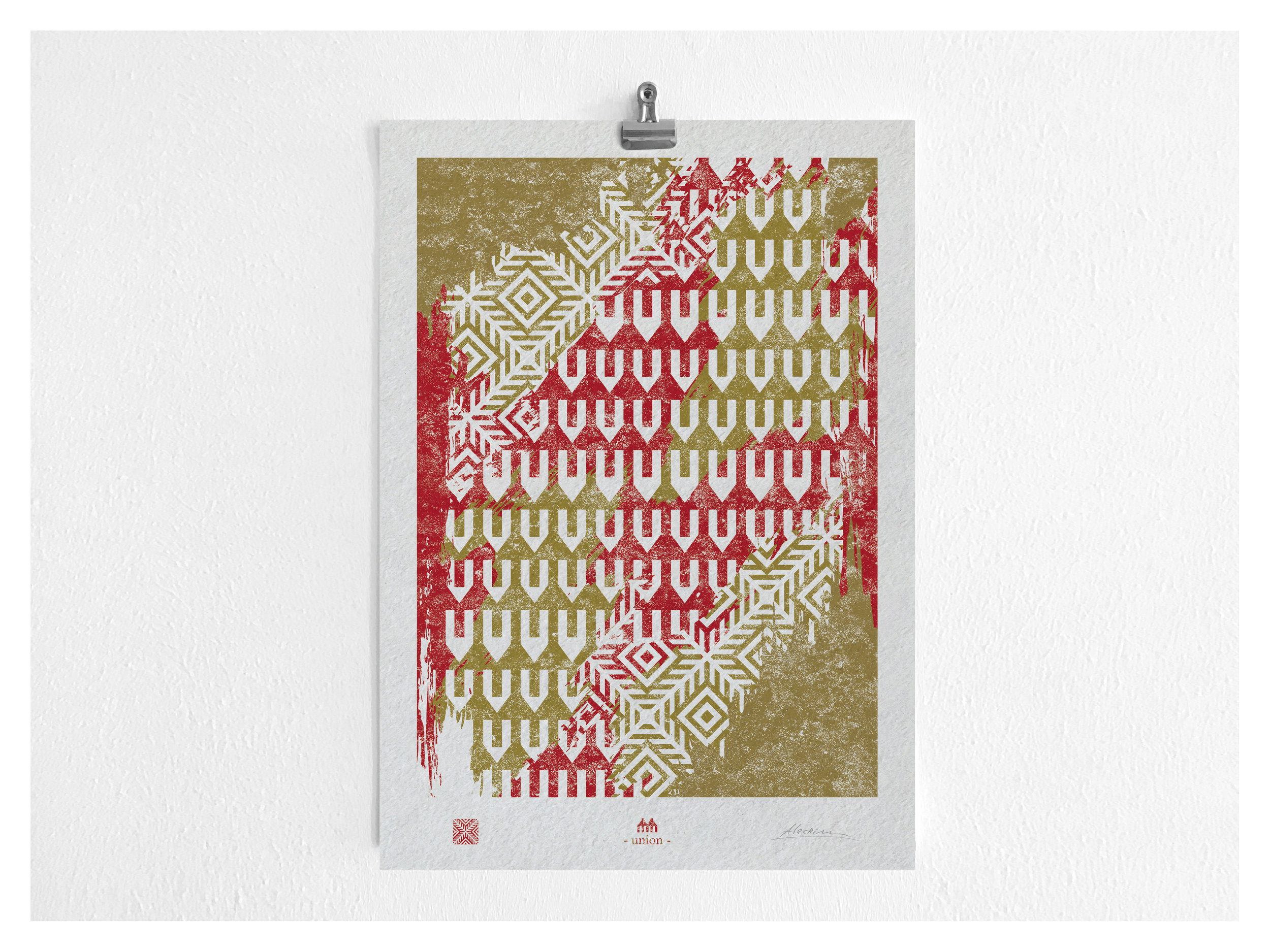 UNION  Digital Print on paper [A3]