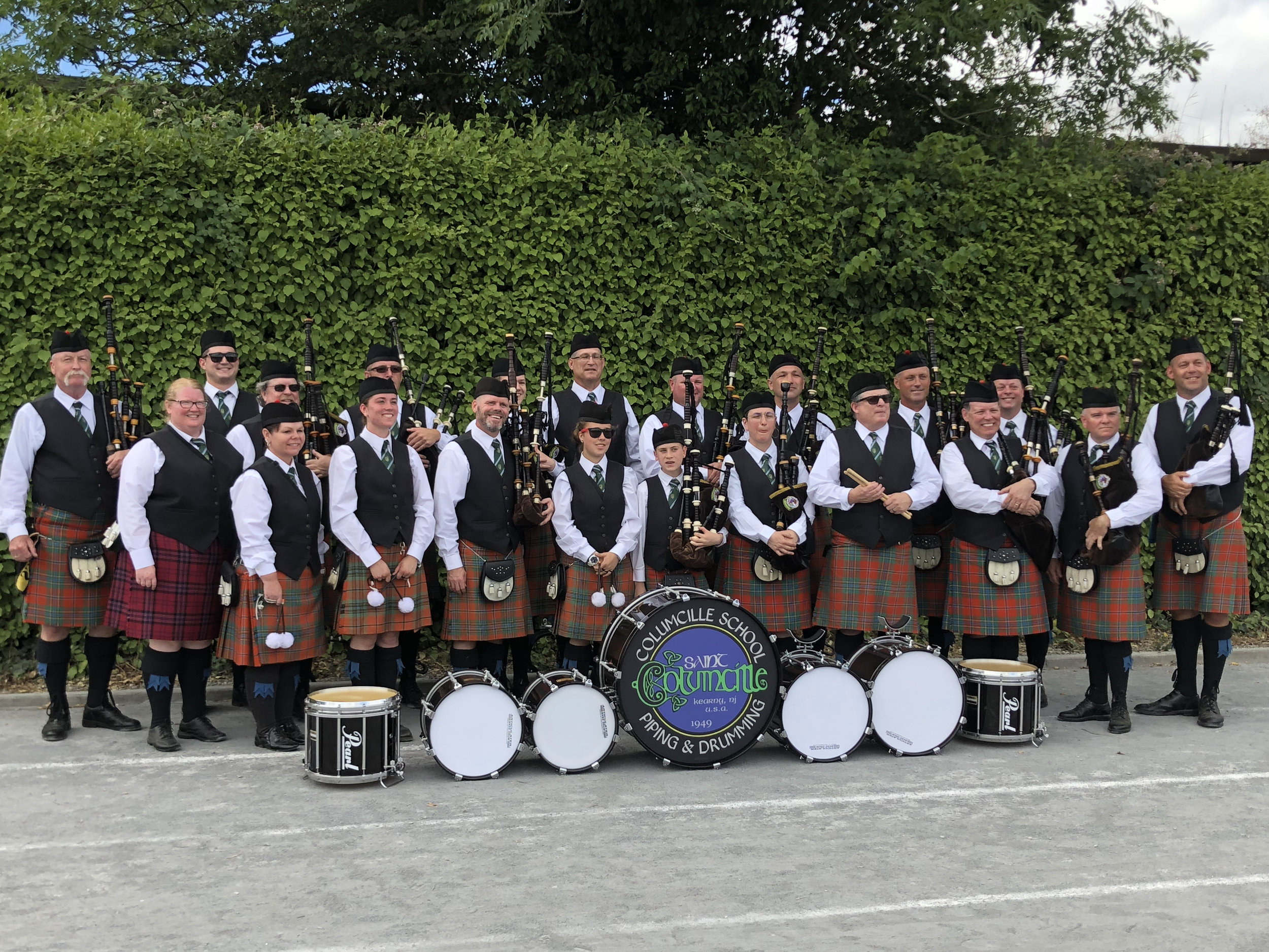 Columcille School of Piping & Drumming in New Ross, Co. Wexford, Ireland.
