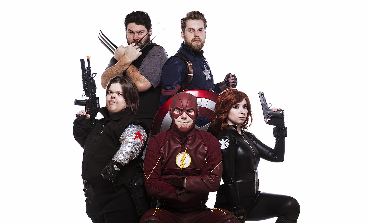 Fat Wolverine joins in with the New Avengers!