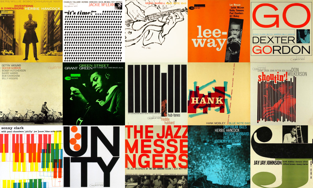 Examples of Blue Note Records releases