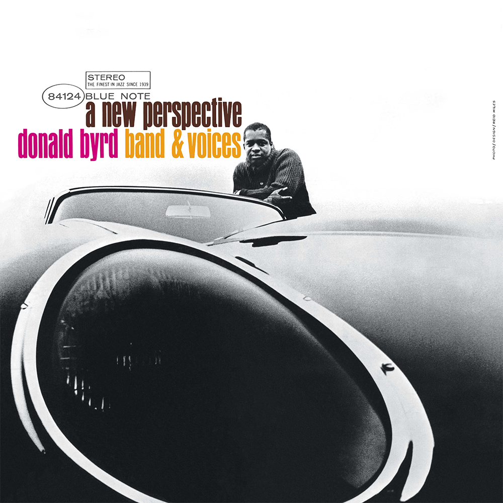 "Donald Byrd ""A New Perspective"" 1964. Look at that gorgeous shot getting in really tight on the car and shooting wide-angled. This shot makes my heart happy."