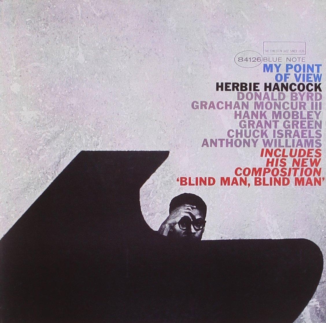 "Herbie Hancock ""My Point Of View"" 1963. Look at this cover. LOOK AT IT. Utterly fantastic."