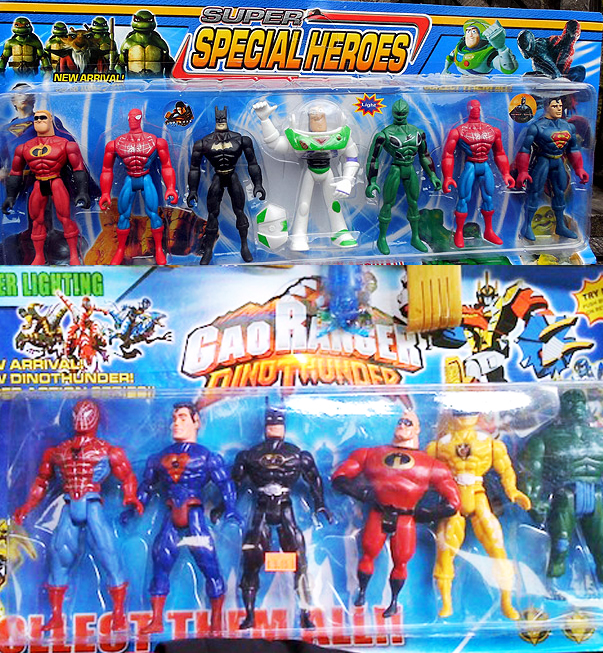 """Top: """"Super Special Heroes"""". Bottom: """"Gao Ranger Dino Thunder"""" all of it is amazing."""
