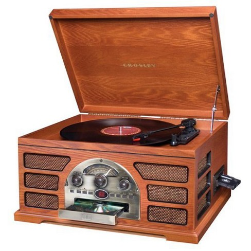 Crosley all-in-one turntable.