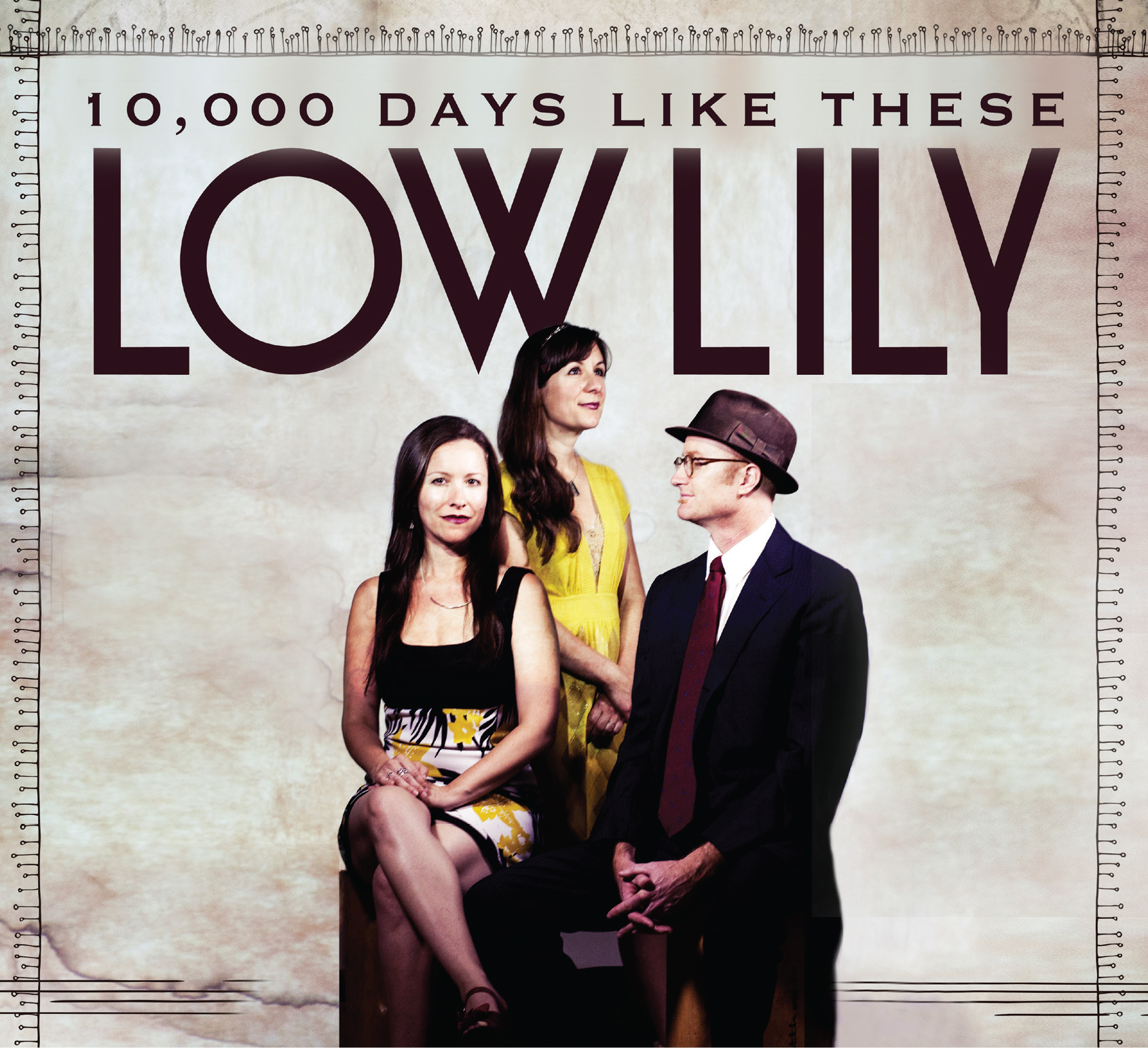 The album cover for 10,000 Days Like These