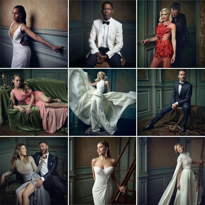 Mark Seliger's 2016 Oscar Portraits