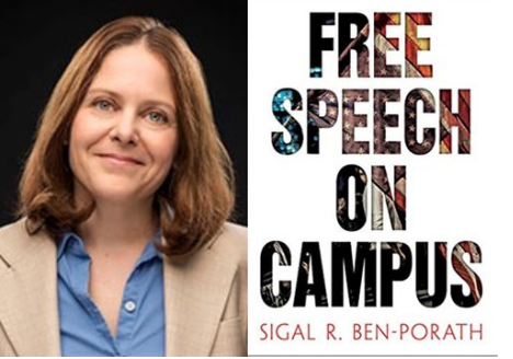 """FREE SPEECH 34: """"Inclusive Freedom"""" as a Way of Putting Free Speech into Practice - With Professor Sigal Ben-Porath, University of Pennsylvania"""