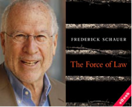 FREE SPEECH 19: Did the civil rights movement owe its existence to free speech, or is free speech the result of social movements? - Professor Frederick Schauer, University of VirginiaREAD MORE