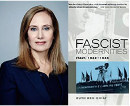 FREE SPEECH 30: Truth, Lies, Propaganda, and the University in the Age of Trump. - Professor Ruth Ben-Ghiat, New York University