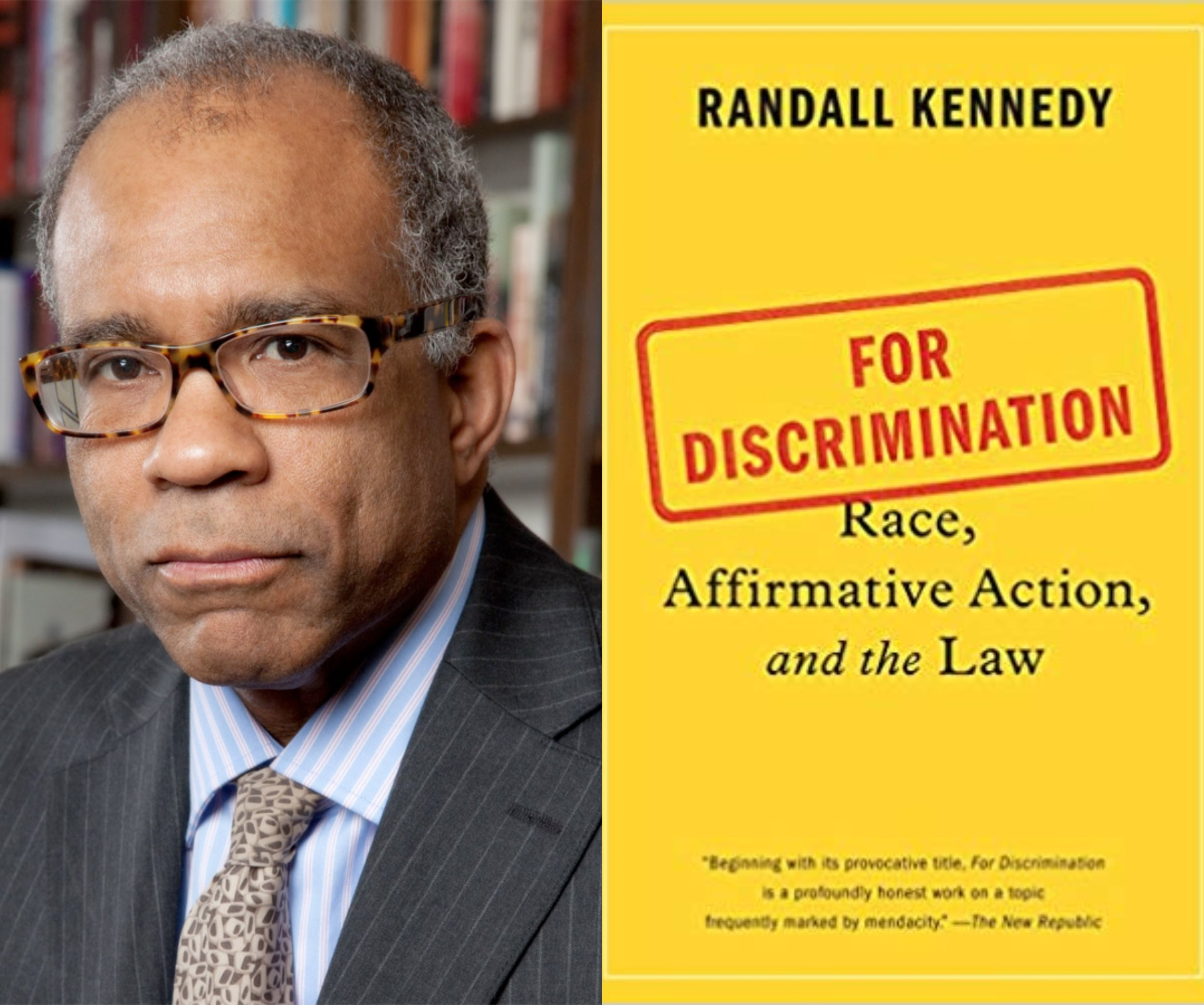 FREE SPEECH 41: FOR Discrimination. A Case for Affirmative Action, with Randall Kennedy - READ MORE