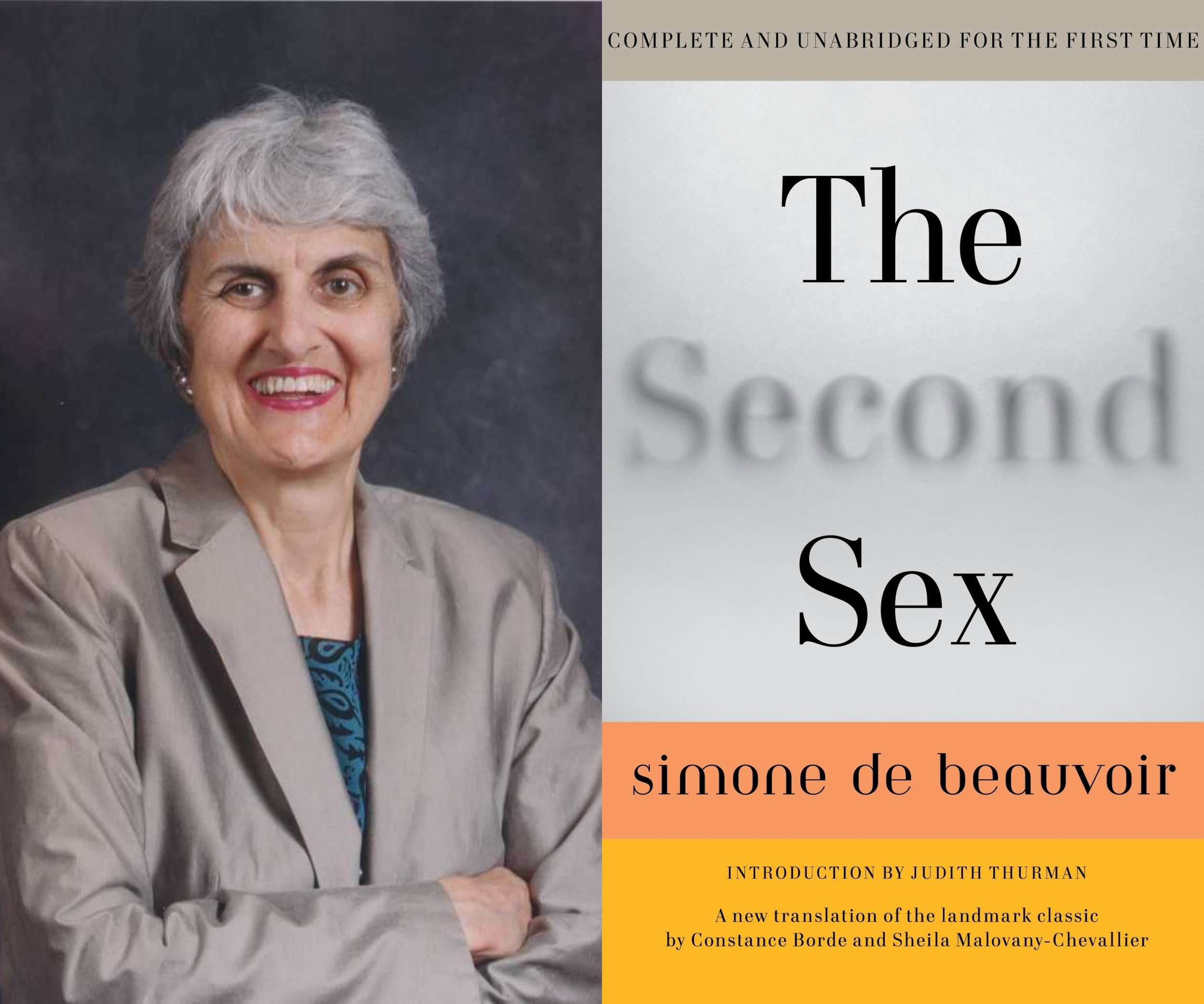 """One is not born, but rather becomes a woman."" Simone de Beauvoir's The Second Sex, with Kate Stimpson. -"