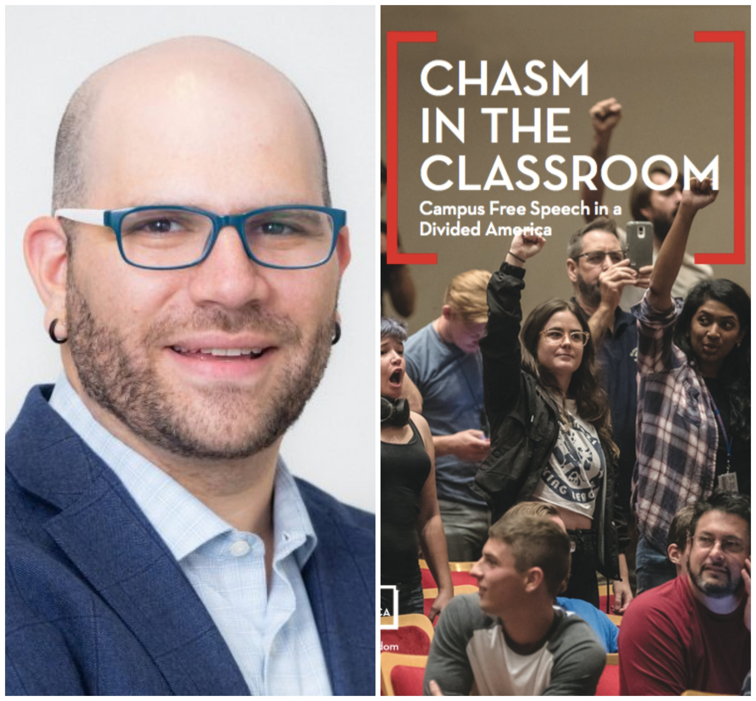 FREE SPEECH 59 : Chasm in the Classroom: Campus Speech in a Divided America, with Jonathan Friedman -