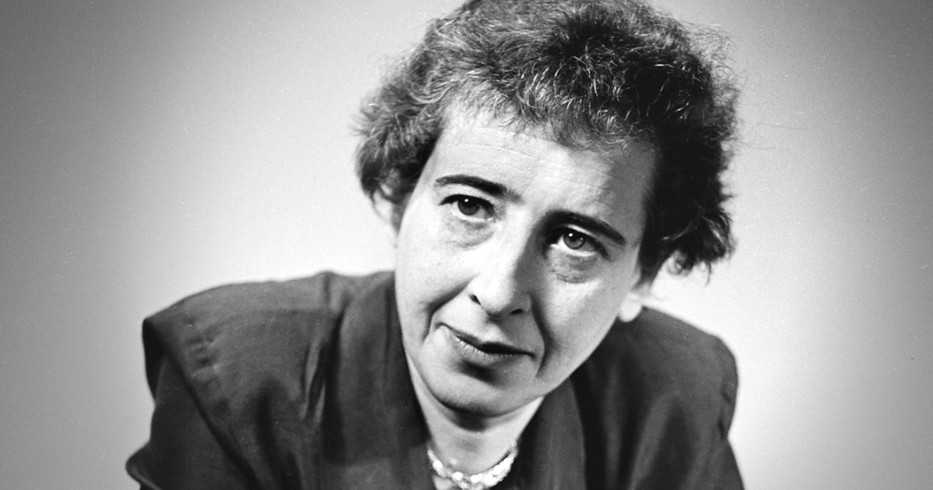 GREAT BOOKS 21: Hannah Arendt is alarmingly relevant, with Richard J. Bernstein -