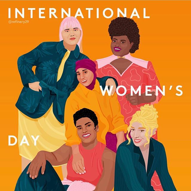 Happy International Women's Day from all of us @ the Bulletin!! Tag the women in your life that empower you to be bold and brave everyday! 💥💫🎤🧡✨🤘🏼🤘🏽🤘🏾🤘🏿#internationalwomensday2019 @royaltythrutheages @all_womankind @julie_guillem @moon_pancake @refinery29