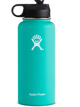 light green hydro flask