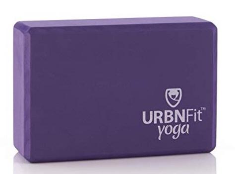 picture of a purple yoga block