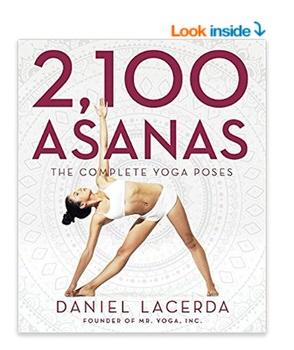 picture of 2100 asanas yoga book