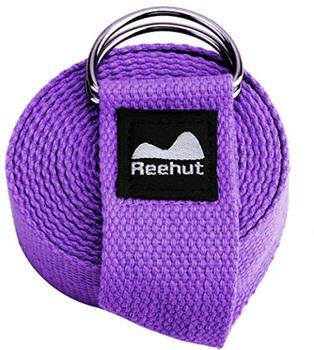 purple yoga strap