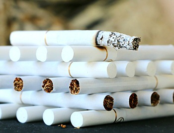 The influence of smoking cigarettes