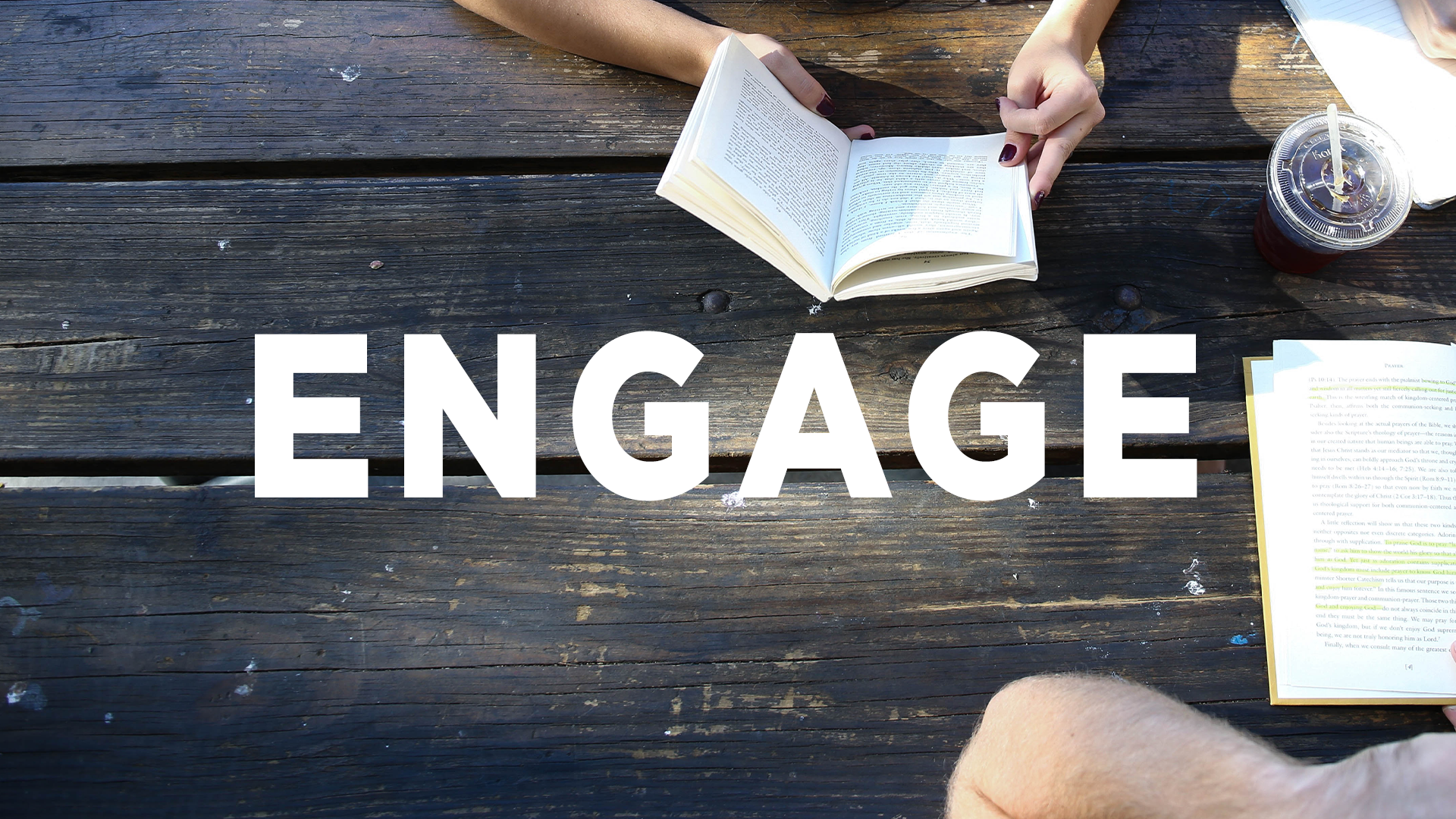 - Engage people in everyday life who need to know Jesus
