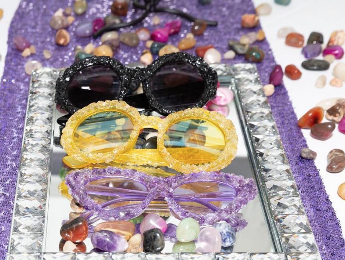@funkncrystals  // Crystal Sunglasses