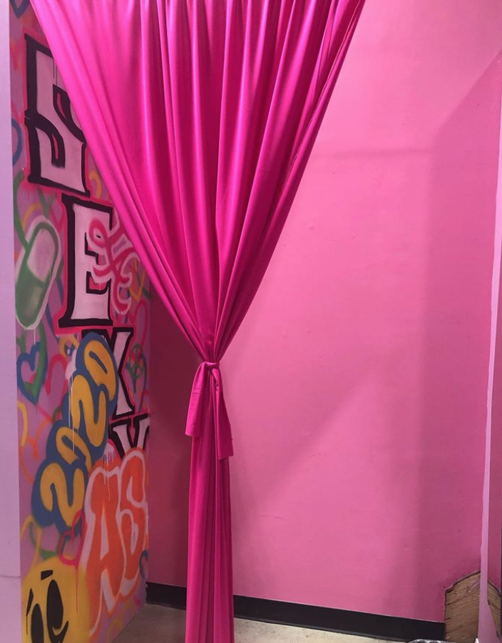 The new Adriana's Play House clothing store in LA.