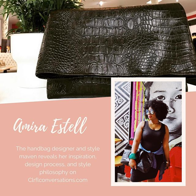 Click the 🔗 in bio. • • • • #clrflconversations #summerstyle #handbagdesigner #womenbrand #womenempowerment #womenstyle #womencreatives #womendesigners #supportwomenownedbusinesses #accessoriesdesigner #woc