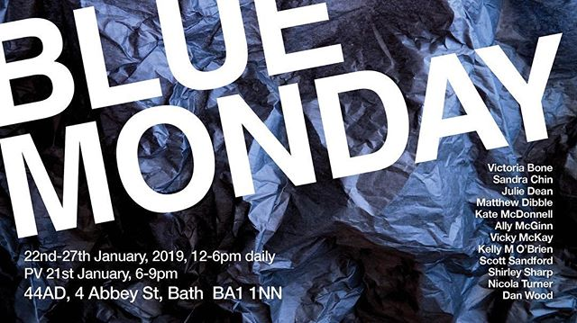 Very excited to be part of this exhibition at @studio44ad from January 22nd - 27th, with a Private View (please come :-) on January 21st, 6-9pm.  Please come by and have a look at the work of these great artists @victoria_bone @san.chin @jsdean_art @sculptordib @katemcdonnellart @ally.mcginn @tiximc @kellyobrienart @shirleysharpartist @nicolaturner.art @dan_r_wood