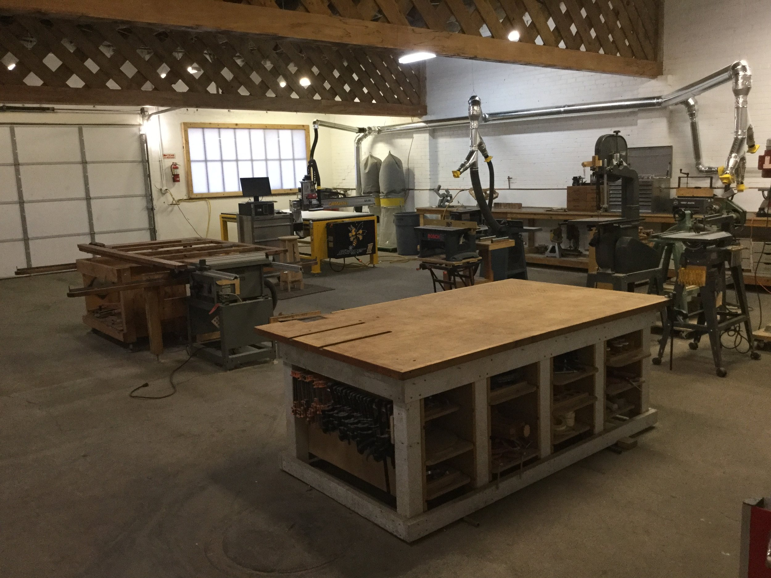 1500 sq ft Fabrication Shop