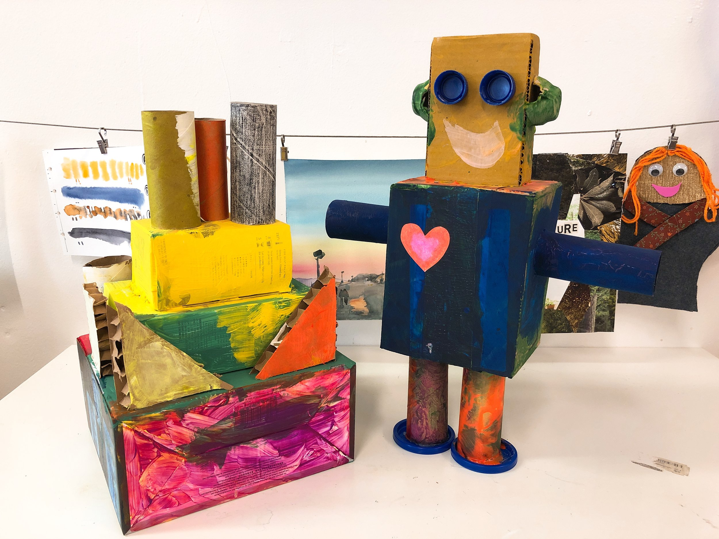 Robot & Cake