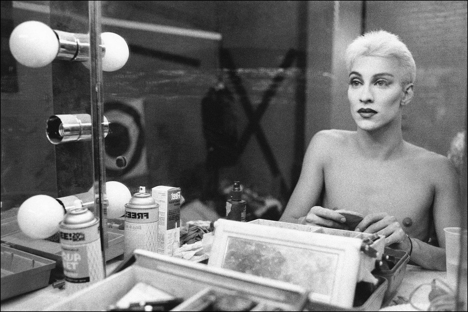 Kourtney at Bizarre Video, 1992