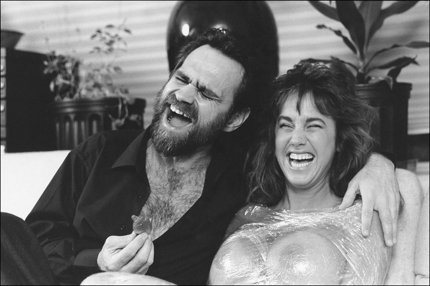 Rick Savage and Bunny Bleu, 1992
