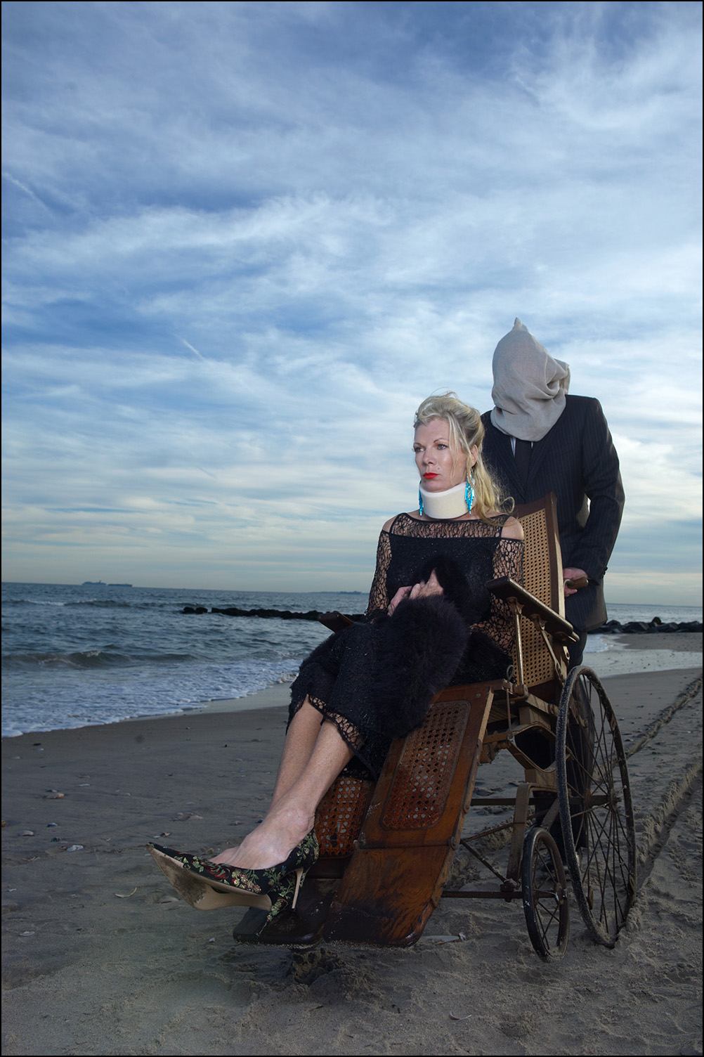 Countess Mara at the Beach, 2010