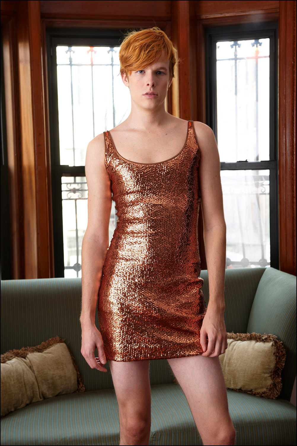 The Platt's Copper Dress, 2009
