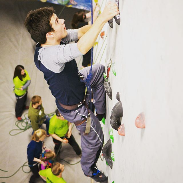 June's inaugural Adaptive climbing night was incredible fun and filled to the brim! We still have a couple spots left for July 15th's session, so sign up quickly!  Here are some shots from our last Adaptive Climbing session with @couragekennysportsrec