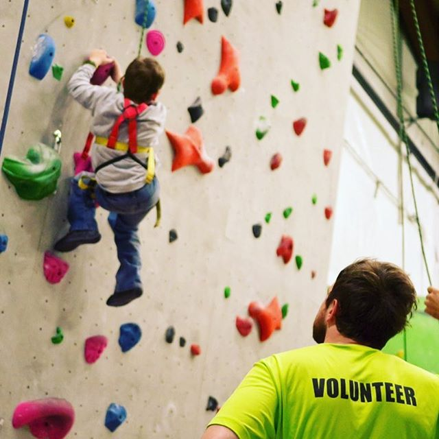 Our Adaptive Climbing program is starting onboard volunteers for the 2019 sessions. If this is something that you know you'd like to learn about or be involved with, please shoot an email to ali@midwestclimbingacademy.com saying so. Of course, big thanks to our volunteers that have helped us grow our Adaptive Climbing program throughout 2018! Climbing is for everyone and volunteers help make that happen. Thank you for your support.