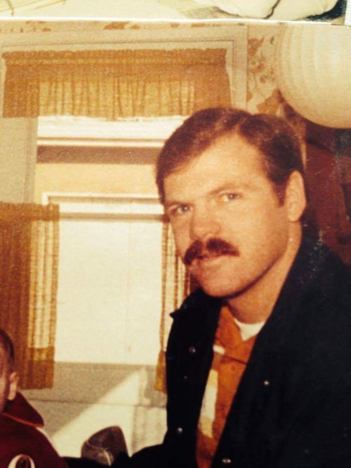 Detective Rick Jackson circa late 1970s or early 1980s
