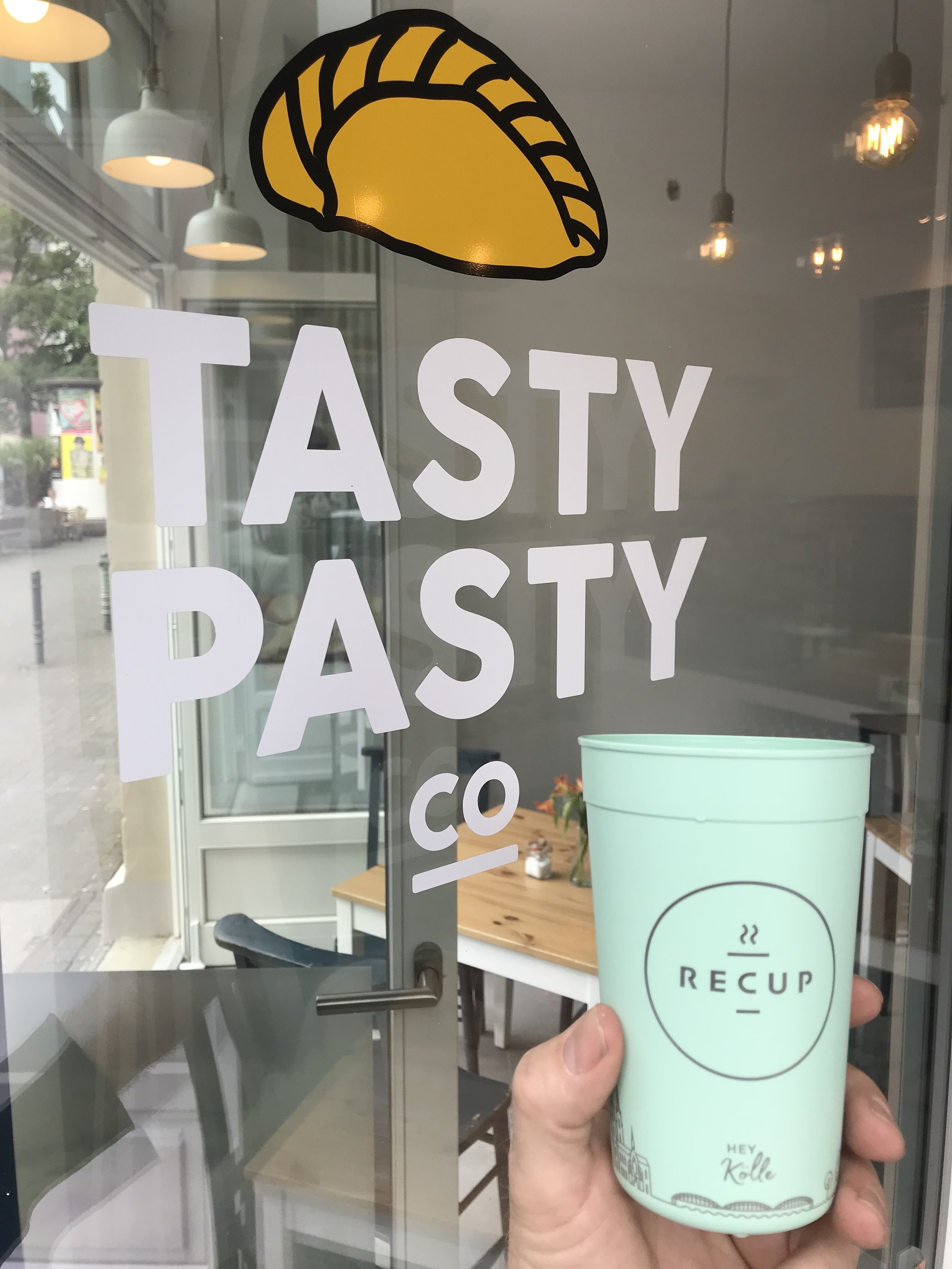 We have RECUP! - So take your drinks away without the guilt of using throwaway paper cups.