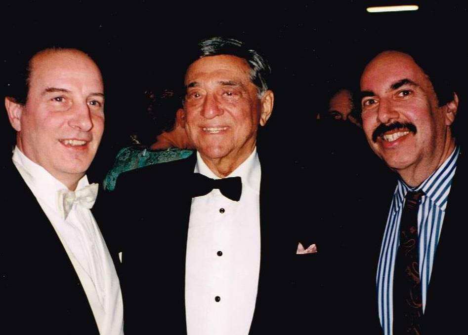 Ed with Lando Bartolini & Robert Merrill