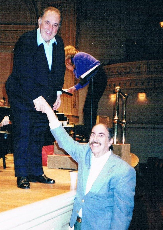Ed with Carlo Bergonzi