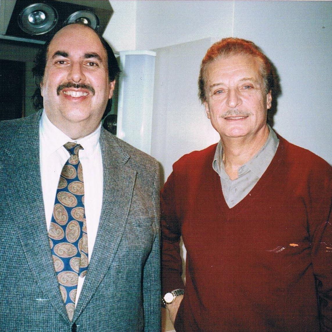 Ed with Alfredo Kraus