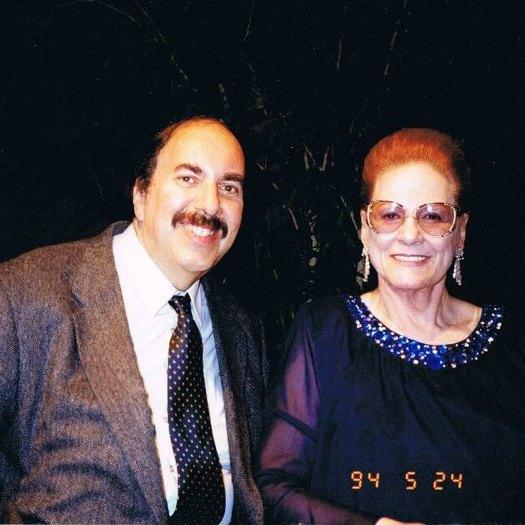 Ed with Renata Tebaldi