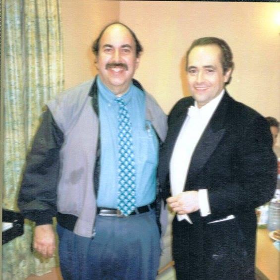 Ed with Jose Carreras
