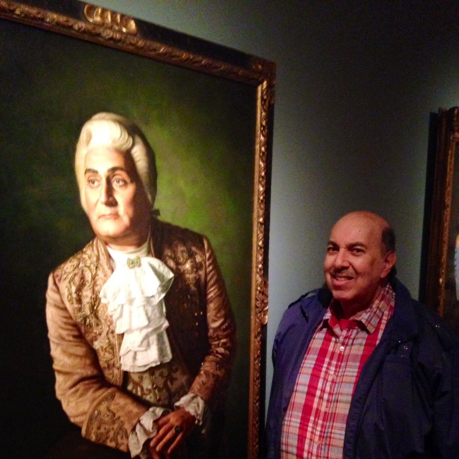 Ed with Richard Tucker